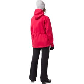 Norrøna W's Svalbard Cotton Anorak Crimson Kick